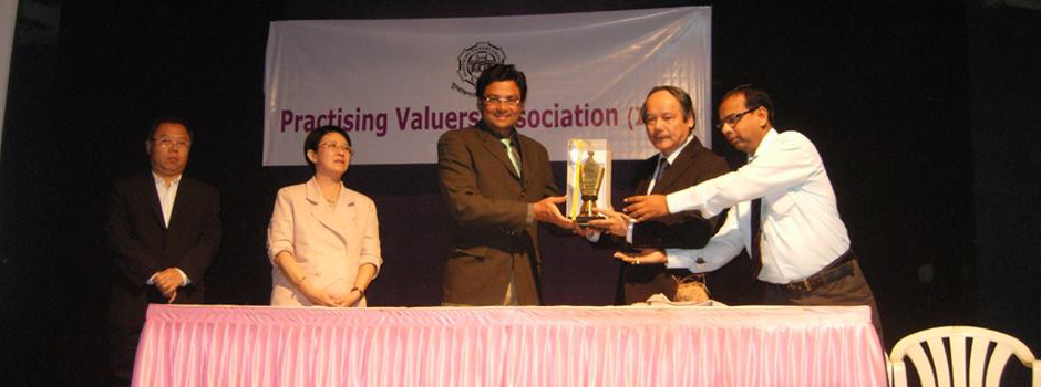 PVAI- SISV (Singapore Institute of Surveyors and Valuers), meeting at Mumbai