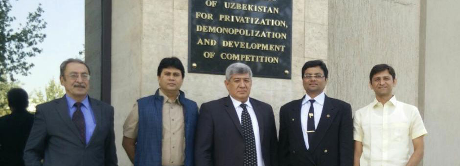 Meeting of PVAI-Uzbeksitan Valuers Assoc at Tashkent @ 2015